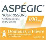 ASPEGIC NOURRISSONS 100 mg, poudre pour solution buvable en sachet-dose à Gradignan
