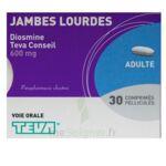 DIOSMINE TEVA CONSEIL 600 mg, comprimé pelliculé à Gradignan