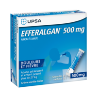 Efferalgan 500 Mg Glé En Sachet Sach/16 à Gradignan