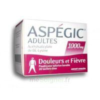 Aspegic Adultes 1000 Mg, Poudre Pour Solution Buvable En Sachet-dose 20 à Gradignan