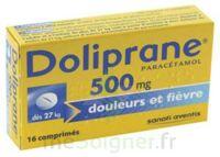 DOLIPRANE 500 mg Comprimés 2plq/8 (16) à Gradignan