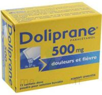 Doliprane 500 Mg Poudre Pour Solution Buvable En Sachet-dose B/12 à Gradignan