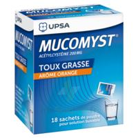 Mucomyst 200 Mg Poudre Pour Solution Buvable En Sachet B/18 à Gradignan