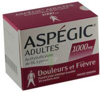 Aspegic Adultes 1000 Mg, Poudre Pour Solution Buvable En Sachet-dose 15 à Gradignan
