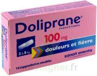 DOLIPRANE 100 mg Suppositoires sécables 2Plq/5 (10) à Gradignan