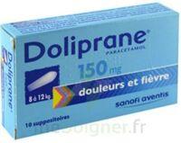 DOLIPRANE 150 mg Suppositoires 2Plq/5 (10) à Gradignan