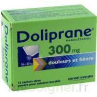 Doliprane 300 Mg Poudre Pour Solution Buvable En Sachet-dose B/12 à Gradignan