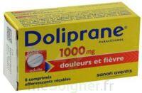 DOLIPRANE 1000 mg Comprimés effervescents sécables T/8 à Gradignan