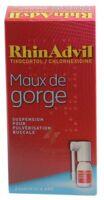 Rhinadvil Maux De Gorge Tixocortol/chlorhexidine, Suspension Pour Pulvérisation Buccale à Gradignan