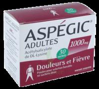 ASPEGIC ADULTES 1000 mg, poudre pour solution buvable en sachet-dose 30 à Gradignan