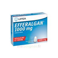 Efferalgan 1000 Mg Comprimés Pelliculés Plq/8 à Gradignan