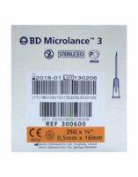 Bd Microlance 3, G25 5/8, 0,5 Mm X 16 Mm, Orange  à Gradignan