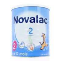 NOVALAC LAIT 2, 6-12 mois BOITE 800G à Gradignan