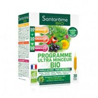 Santarome Bio Programme Ultra Minceur Solution Buvable 30 Ampoules/10ml à Gradignan