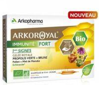 Arkoroyal Immunité Fort Solution Buvable 20 Ampoules/10ml à Gradignan
