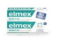 ELMEX SENSITIVE DENTIFRICE, tube 75 ml, pack 2 à Gradignan