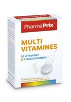 PHARMAPRIX Multivitamines Boîte 24 comprimés effervescents à Gradignan