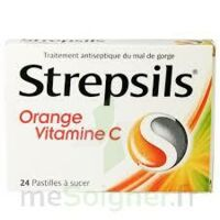 STREPSILS ORANGE VITAMINE C, pastille à Gradignan