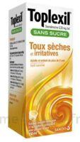 Toplexil 0,33 Mg/ml Sans Sucre Solution Buvable 150ml à Gradignan