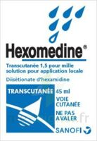 HEXOMEDINE TRANSCUTANEE 1,5 POUR MILLE, solution pour application locale à Gradignan