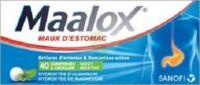 Maalox Hydroxyde D'aluminium/hydroxyde De Magnesium 400 Mg/400 Mg Cpr à Croquer Maux D'estomac Plq/40 à Gradignan