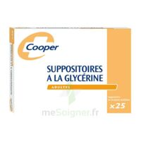 SUPPOSITOIRES A LA GLYCERINE COOPER Suppos en récipient multidose adulte Sach/25 à Gradignan