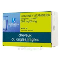 Cystine/vitamine B6 Biogaran Conseil 500 Mg/50 Mg Cpr Pell Plq/120 à Gradignan