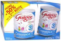 GUIGOZ LAIT CROISSANCE 3 2X800GR à Gradignan