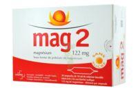 MAG 2 122 mg S buv en ampoule sans sucre édulcoré à la saccharine sodique 30Amp/10ml à Gradignan