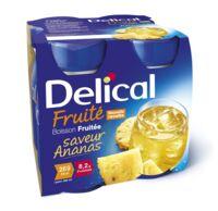 DELICAL BOISSON FRUITEE Nutriment ananas 4Bouteilles/200ml à Gradignan