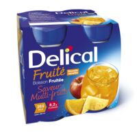 DELICAL BOISSON FRUITEE Nutriment multi fruits 4Bouteilles/200ml à Gradignan