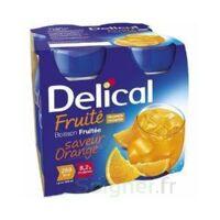 DELICAL BOISSON FRUITEE Nutriment orange 4Bouteilles/200ml à Gradignan