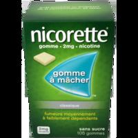Nicorette 2 Mg Gom à Mâcher Médic Sans Sucre Menthe Fraîche Plq/105gom à Gradignan