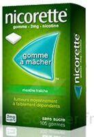 NICORETTE 2 mg Gom à mâcher médic sans sucre menthe fraîche Plq/30gom à Gradignan