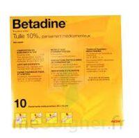 BETADINE TULLE 10 POUR CENT, pansement médicamenteux à Gradignan