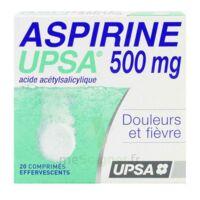 Aspirine Upsa 500 Mg, Comprimé Effervescent à Gradignan