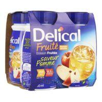 Delical Boisson Fruitee Nutriment Pomme 4bouteilles/200ml à Gradignan