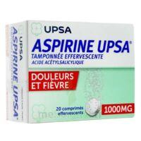 Aspirine Upsa Tamponnee Effervescente 1000 Mg, Comprimé Effervescent à Gradignan