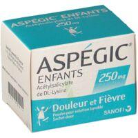Aspegic Enfants 250, Poudre Pour Solution Buvable En Sachet-dose à Gradignan