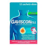 GAVISCONELL Suspension buvable sachet-dose menthe sans sucre 12Sach/10ml à Gradignan