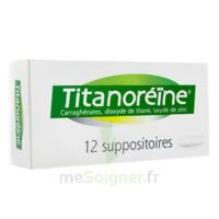 Titanoreine Suppositoires B/12 à Gradignan