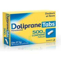 DOLIPRANETABS 500 mg Comprimés pelliculés Plq/16 à Gradignan