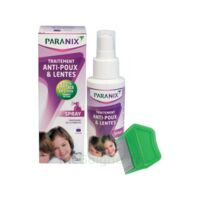 Paranix Solution Antipoux Huiles Essentielles 100ml+peigne à Gradignan
