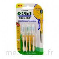 Gum Trav - Ler, 1,3 Mm, Manche Jaune , Blister 4 à Gradignan