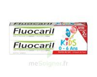 Fluocaril Kids Gel dentifrice Fraise 0/6ans 2*50ml à Gradignan