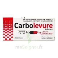 CARBOLEVURE Gélules adulte Plq/30 à Gradignan