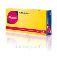 Oligosol Lithium Solution buvable en ampoule ou en récipient unidose 28Amp/2ml à Gradignan