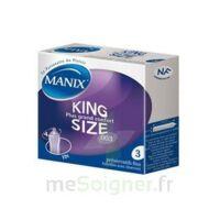 Manix King Size Préservatif Avec Réservoir Lubrifié Confort B/3 à Gradignan