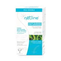 Netline Crème visage/corps décolorante peau sensible 30+30ml à Gradignan