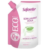 Saforelle Solution soin lavant doux Eco-recharge/400ml à Gradignan